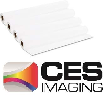 4 Rolls 34'' X 150' (34 Inch X 150 Foot) 20lb Bond Paper 2'' Core. By CES Imaging