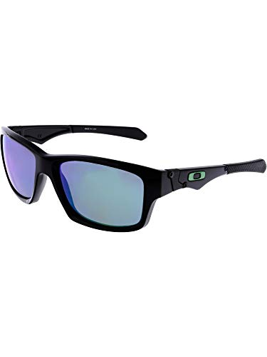 Oakley Mens Jupiter Squared Sunglasses, Polished Black/Jade Iridium, One Size (Oakley X Squared Sunglasses)