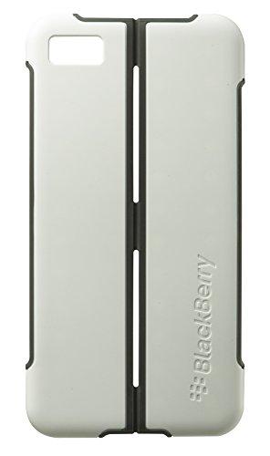 Blackberry Z10 Flip Shell - BlackBerry OEM Transform Ultra-thin Hardshell Case for BlackBerry Z10 - White