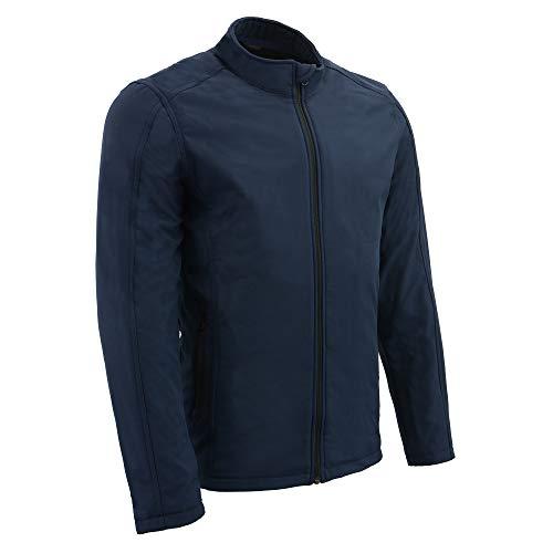 Milwaukee Performance Men's Waterproof Lightweight Zipper Front Soft Shell Jacket (Blue, 3X)