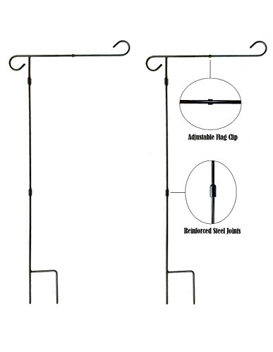 (Garden Flag Pole Stand - 2 Pack - 36