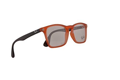 Ray-Ban Junior RX1553 Eyeglasses 48-16-130 Orange Grey w/Demo Clear Lens 3670 RX 1553 RB1553 (Rb Sunglasses Online)