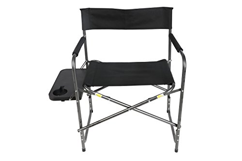 Ozark Trail Director's Chair with Foldout Side Table