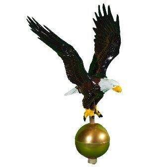 (Montague Metal Products Color Flagpole Eagle, 12-Inch)
