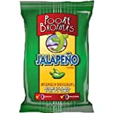 Poore Brothers Jalapeno Kettle Cooked Potato Chips - 1.5 oz. bag, 55 per case