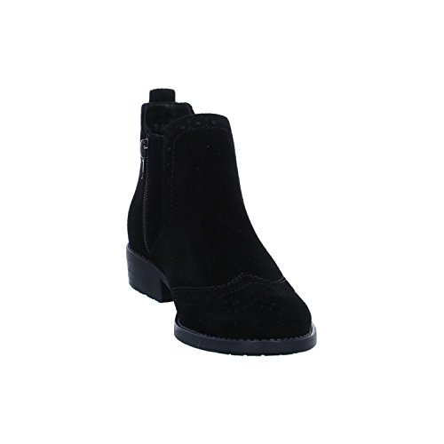 Boot Women Black Leather Leather Women Boot Tamaris Tamaris Black E6qqPa7w