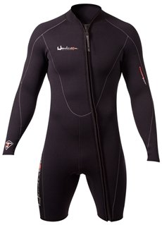 Henderson Man 5mm Thermoprene Long Sleeve Shorty / Jacket (Front Zip) Scuba Diving Wetsuit-Large