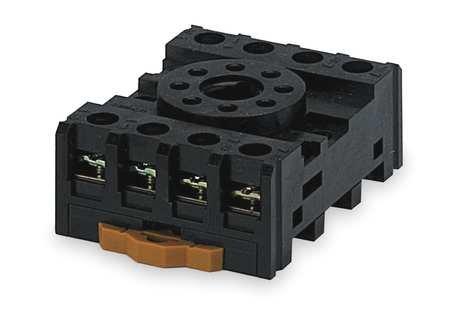 Relay Socket, Finger Safe, Octal, 8 Pin, (Octal Socket)