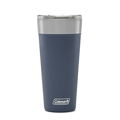 Coleman Brew Insulated Stainless Steel Tumbler, 30 oz, Slate by Coleman