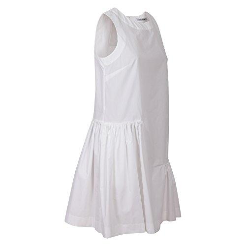 Weiß Kleid Damen Parosh M Bianco