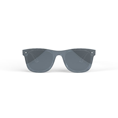 MIXER IN DARK GREY LIGHT WEIGHT AND CLEAR 100% UV - Mixer Sunglasses
