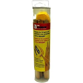 10PK Pencil/Sharpener