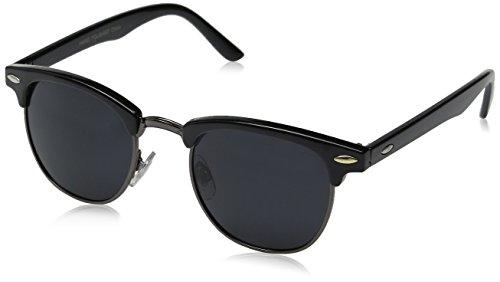 MLC Eyewear Men's Gilwood Soho TU8892POL-BKBK Polarized Wayfarer Sunglasses, Black, 50 - Sunglasses Soho