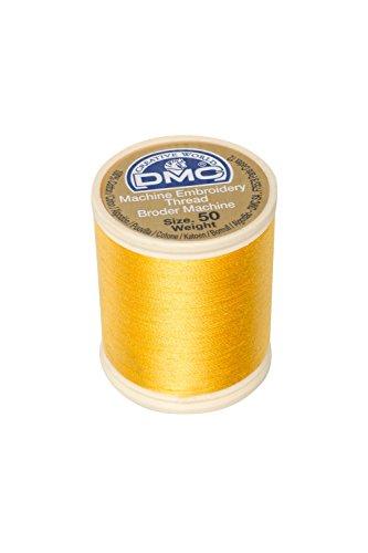 - DMC 237A-50725 Cotton Embroidery Thread 50WT 547Yds Topaz