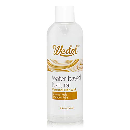 WeDol Personal Lubricant Water Based, 8oz Bottle Sex Lube for Men, Women & Couples