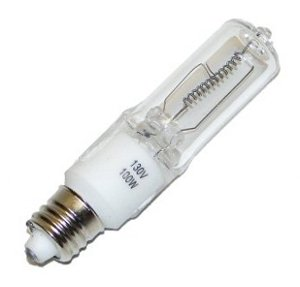 100w Light Bulb: Hikari JD7011 - 100 Watt Halogen Light Bulb - JD - Mini Candelabra Base -  Clear,Lighting