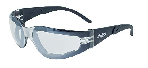 Global Vision Eyewear Rider Plus Safety Glasses with EVA Foa