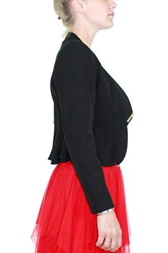 Uni Manches Femme Jo Noir Jeans Liu Longues Blouson 6CHwStq