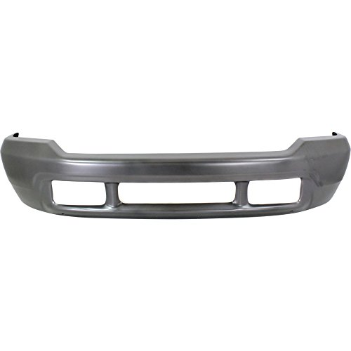 Bumper for Ford Excursion 00-05/F-Series Super Duty 99-04 Front Bumper Gray w/Lower Valance Hole