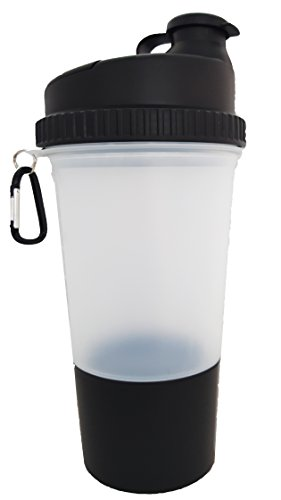 3 in 1 Protein Shaker X-large Mixer Cup 25 Oz /700 Ml (1)
