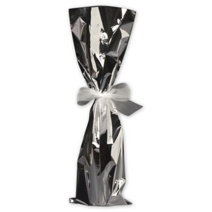 Deluxe Small Business Sales MYLARBAG-7 6.5 x 20 in. Mylar Wine Bags, Silver from Deluxe Corporation