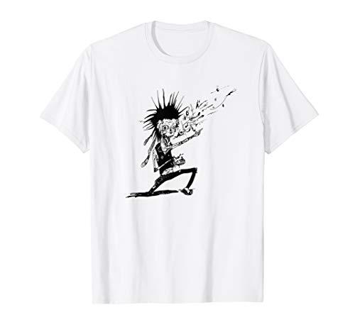 Punk Band Rock Zombie Halloween T-shirt