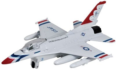 7.5'' DIECAST PULLBACK F-16 FALCON, Case of 72