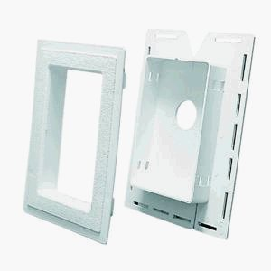Split Recess J-Block Mounting Block by Alcoa Home Exteriors