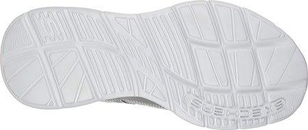 Skechers Usa Heren Glijdt Status Lace-up Sneaker Grijs