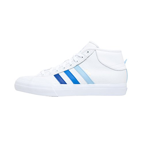 adidas Skateboarding, Herren Skateboardschuhe White Royal Blue, White Royal Blue - Größe: 41 1/3