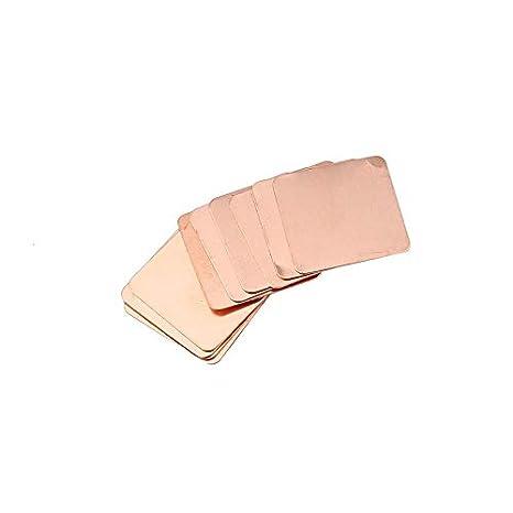 10 piezas de cobre puro Disipador térmico Calce Almohadilla ...