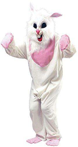 Mens Ladies Evil White Killer Easter Rabbid Rabbit Bunny Halloween Fancy Dress Costume Outfit (One -
