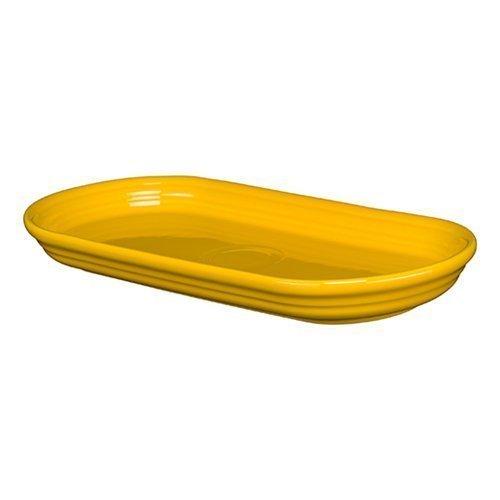 Homer Laughlin 412-342 12'' Bread Tray, Daffodil