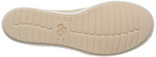 Donna Gold Slip Glow soft Clarks Step Ballerine Oro 1IRxwq8A