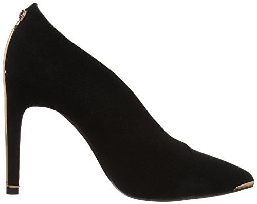 Bexzs para Zapatillas Ted cerrada de Baker Negro mujeres negras con punta ballet 000000 YxxqZCwXO