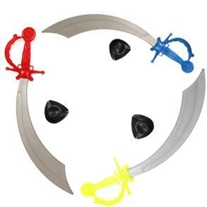 Fun Express Pirate Sword with Eye Patch Costume (1 -