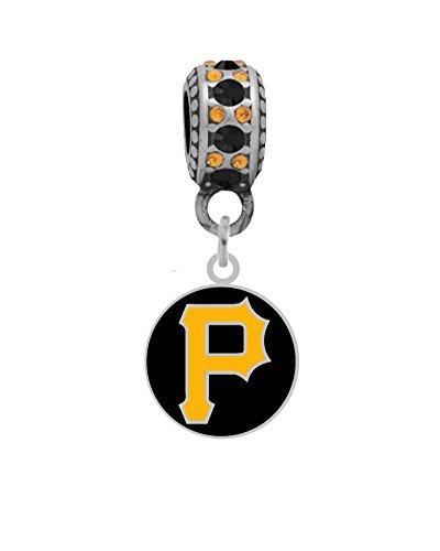 Pittsburgh Pirates Round Logo Charm