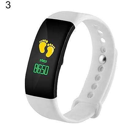 FeiyanfyQ Smart Band Heart Rate Sleep Monitor Wristband Fitness Bracelet Pedometer Tracker Estimated Price £18.04 -