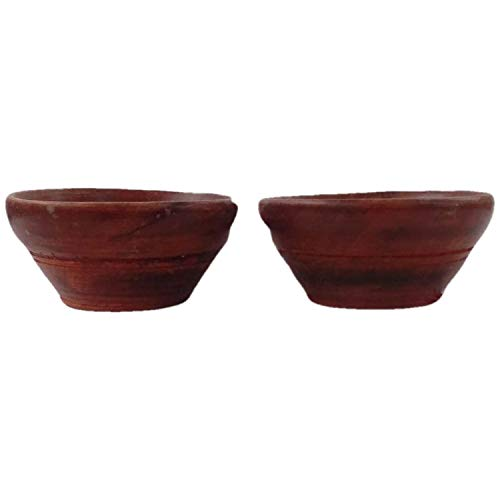 Wooden Handcarved Bowls 4x2 Inch Set of 4 | Made by Awarded Indian Artisan