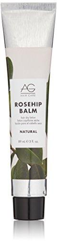 AG Hair Natural Rosehip Balm Hair Dry Lotion, 3 Fl Oz (Best Hair Lotion For Natural Hair)