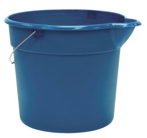 United Solutions PA0147 Blue 3 Gallon  Plastic Utility Pail