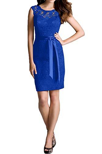 Brautjungfernkleider Festlichkleider Kurz Weiss Royal Etuikleider Blau Braut Spitze Cocktailkleider Marie La 8qnXwP0pwx