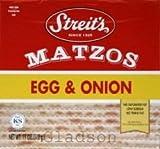 Streits B82412 Streits Matzo Egg & Onion -6x11 Oz