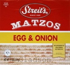 Matzo, Egg & Onion , 11 oz (pack of 6 ) by Streit's