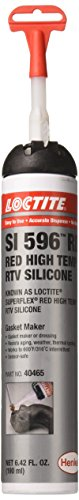 Loctite 40465 Red Silicone - Sensor-Safe/Hi-Temp, 5.7 Fluid_Ounces ()