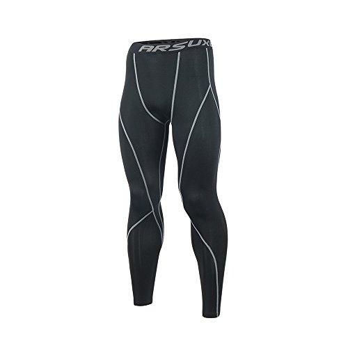 Friendly Adidas Alphaskin Sport Black Fine Craftsmanship 3 Stripe Mens Long Training Tights