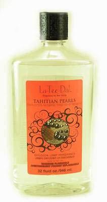 Pearl Oil Lamp - La-Tee-Da Effusion and Fragrance Lamp Oil Refills - 32 oz - TAHITIAN PEARLS