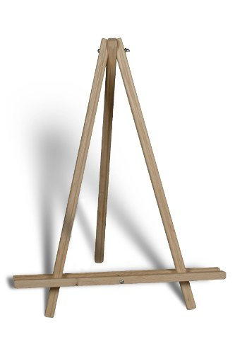 Large Table Easel - American Easel 24 Inch Table Top Tripod-Natural Fir