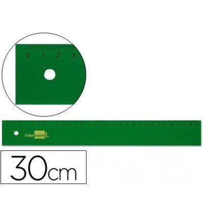 Liderpapel Lineal aus Acryl grün 40 Cm B00YVPTCJK   Passend In Der Farbe