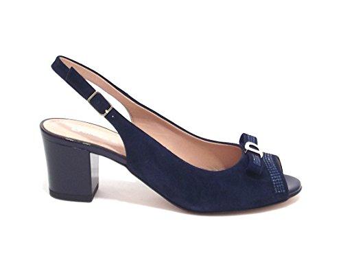 Donna Serena , Sandales pour femme Bleu Blu